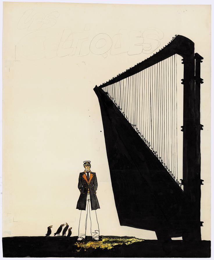 Scintille all'asta delle strisce d'autore all'asta da Sotheby's a Parigi: un disegno di Hugo Pratt venduto per 315.000 euro.