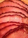 Ingredients: 1/2 c brown sugar 2 tbs mustard (spicy, Dijon, etc) 4 tbs melted butter 3 c root beer (do not use sugar-free) 4 lb pre-cooked spiral ham (If not using a spiral ham, score top of ham fi…