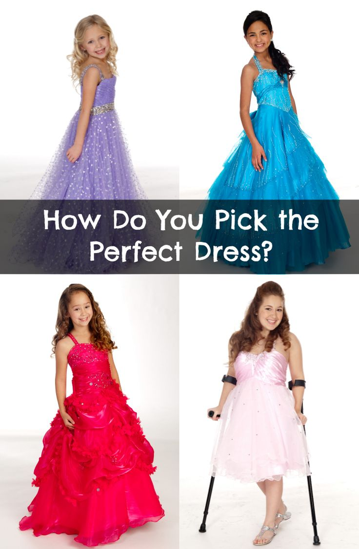 Great advice on picking the perfect pageant dress