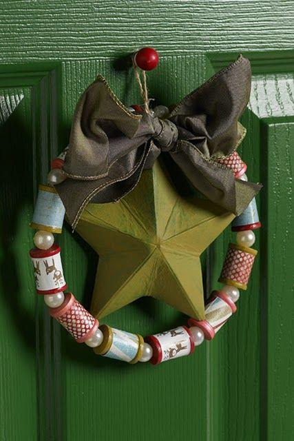 Spool Wreath