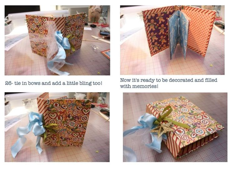 Graphic 45 Nutcracker Book Tutorial by @Denise H. Hahn: Image 10 of 10