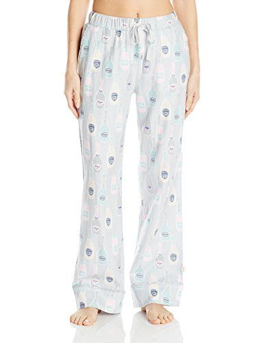 Special Offer: $5.67 amazon.com Whimsical prints on classic flannel pants. Contrast trim with an elastic waistband and drawstring. Pant cuffs feature easy length adjustment with snaps.Side pocketsContrast trim compliments this great print