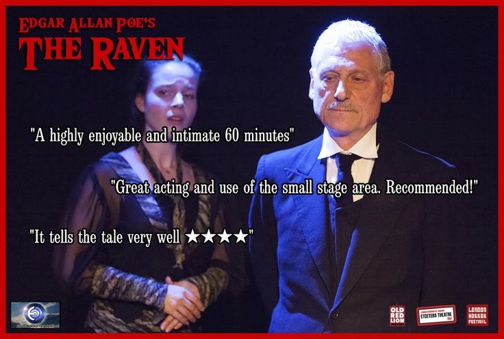 The Raven, adapted from the original poem by Edgar Allan Poe. Adapted and Directed by Simon James Collier. Lighting: Ben Jacobs. Sound: Sam Glossop. Cast: Sandra Veronica Staanczyk, Mitch Howell and Michael Eriera. Assistant Director: Helen Elliott. Graphics: Adam Dechanel
