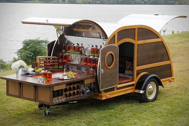 Bulleit Frontier Whiskey Woody-Tailgate Trailer 2