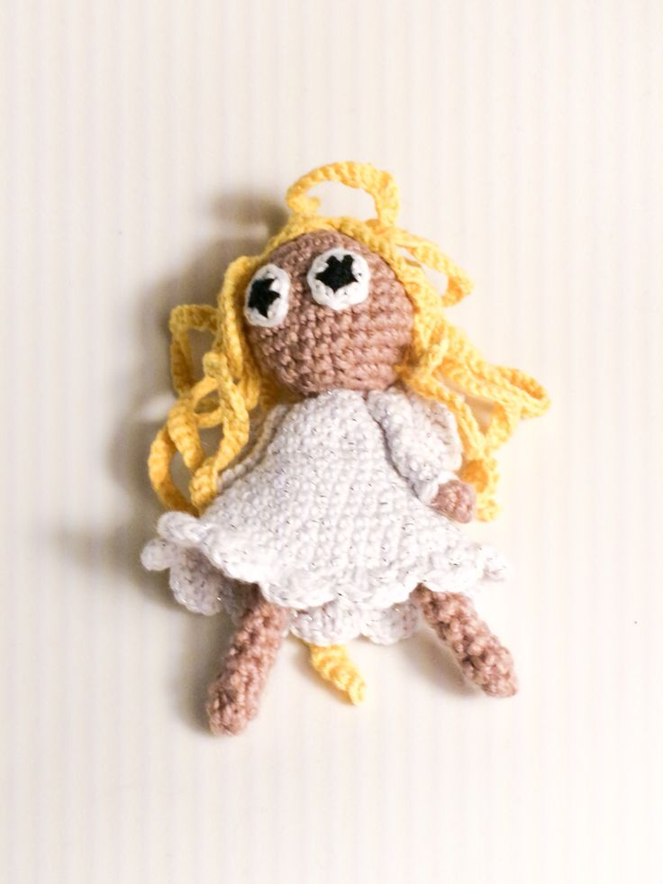 Crochet angel, hæklet engel