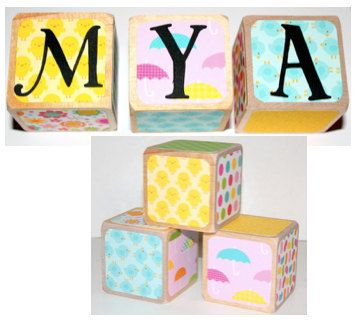 16 best personalized baby gifts images on pinterest personalized personalized baby gift wooden baby blocks by nurserytimeblocks negle Gallery