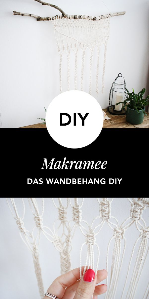 100 Best Makramee ♡ Wohnklamotte Images On Pinterest | DIY, Cable And Do It  Yourself