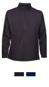 Jackets and Vests - Aurora Custom Sportswear NZ Mens 3k Softshell Fabric is rated 3000mm water resistant—essentially this means that a 'column' of water less than 3000mm high won't penetrate. Breathable (1000 MVP) and has a wind-stopping membrane. Lighter than the PRO series for general every-day wearing.  Water resistant outer (3000mm) Breathable (1000MVP) Wind blocking Side panel detail Zippered hand pockets - concealed Internal 'drop' pockets Internal storm flap and zip 'garage'