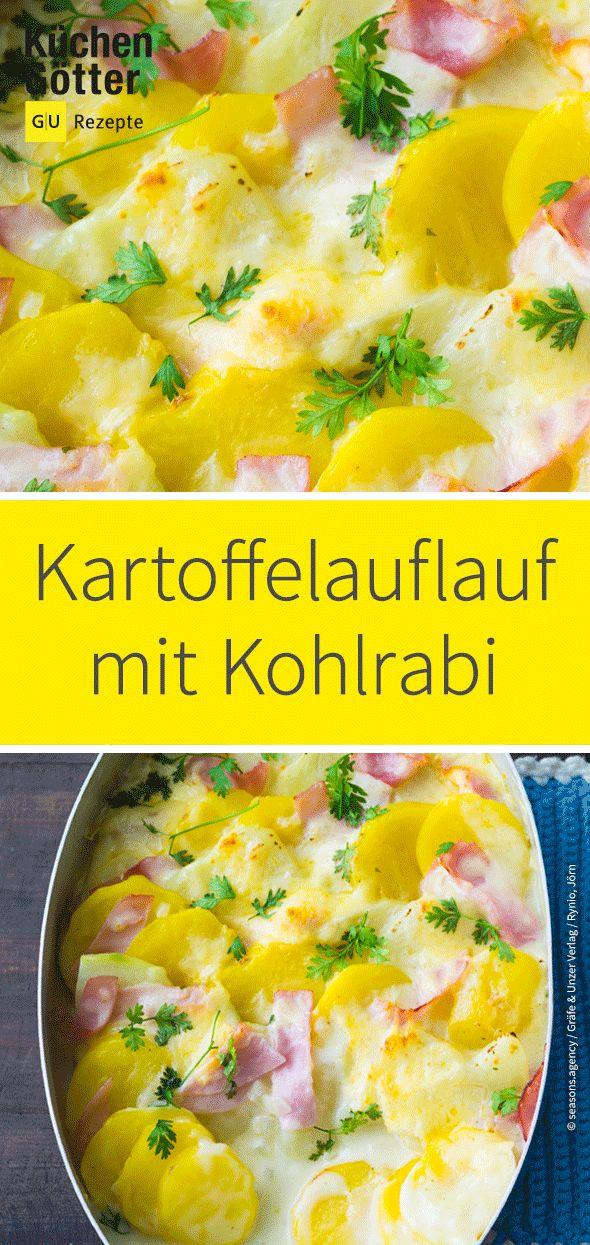 Kartoffel-Kohlrabi-Auflauf – Küchengötter