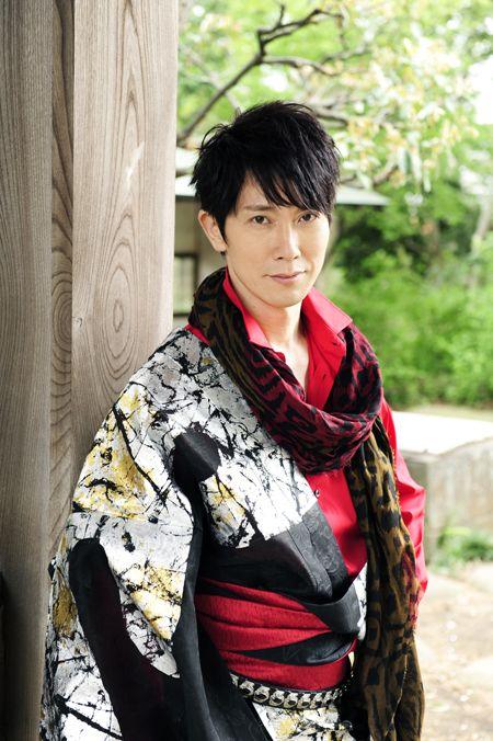 Mens Kimono Sasaki Kuranosuke (佐々木蔵之介)