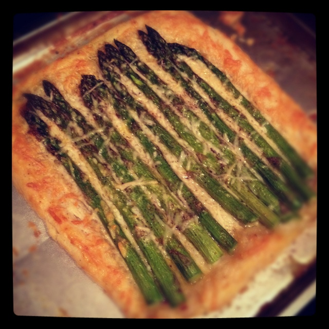 Asparagus, Gruyere And Parmesan Tart Recipes — Dishmaps