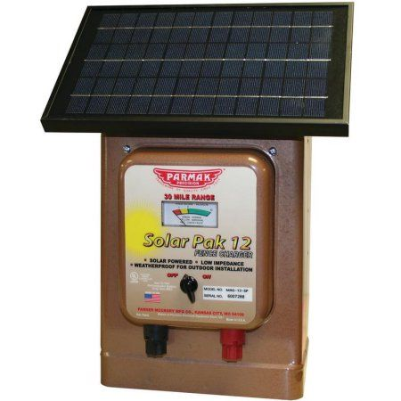 Industrial Scientific Solar Electric Fence Solar Charger