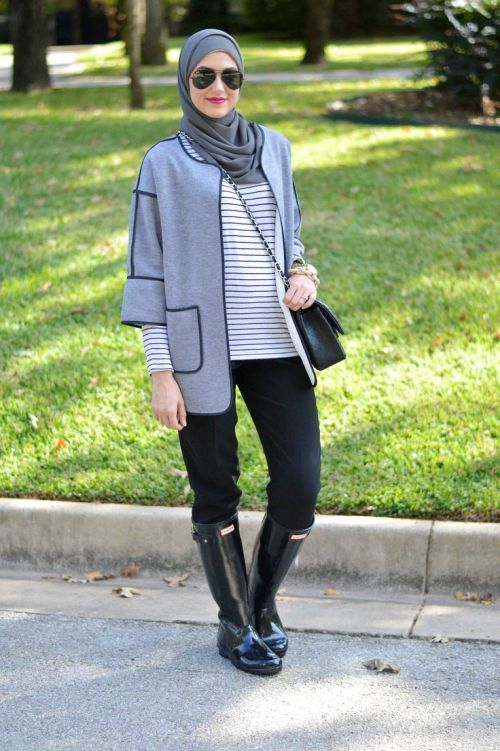 leena asad winter hijab