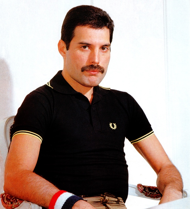 Freddie in Fred Perry
