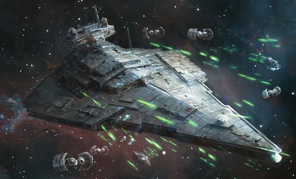 "Star Destroyer : Star Wars ""Intensify Your Forward Batteries""°°"