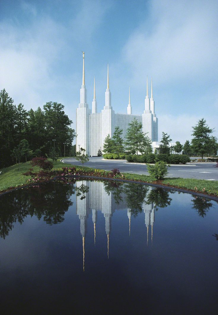 Washington D.C. Temple of The Church of Jesus Christ of Latter-day Saints. #LDS #Mormons