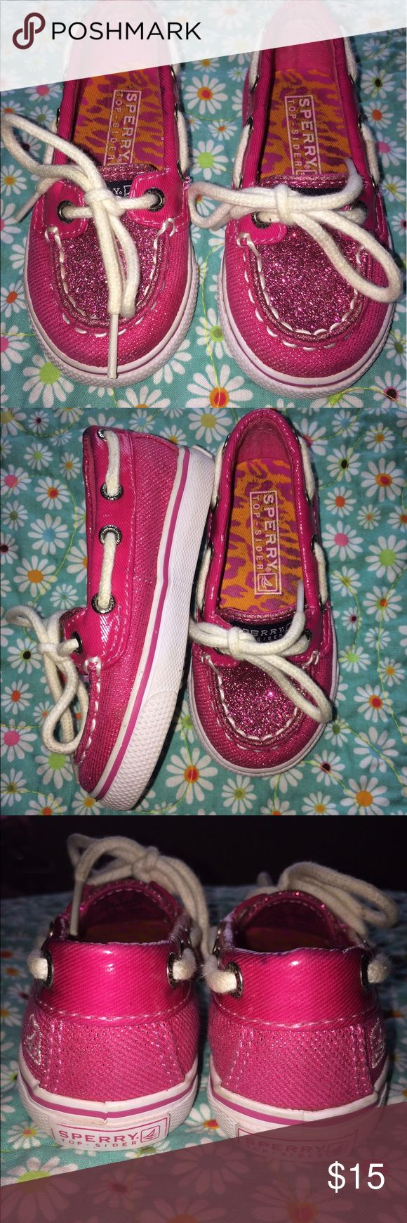 Little girls Sperry Top sider🌸 How adorable are they 😍 excellent condition little girl Sperry Top Sider Sperry Top-Sider Shoes Sneakers
