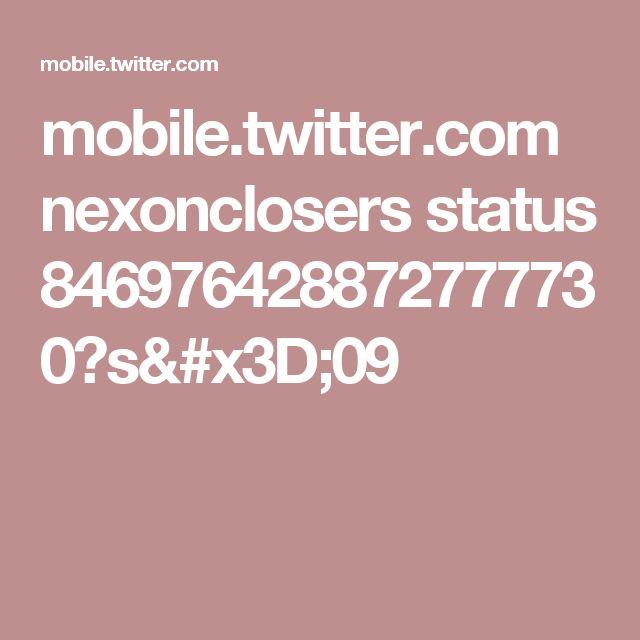 mobile.twitter.com nexonclosers status 846976428872777730?s=09