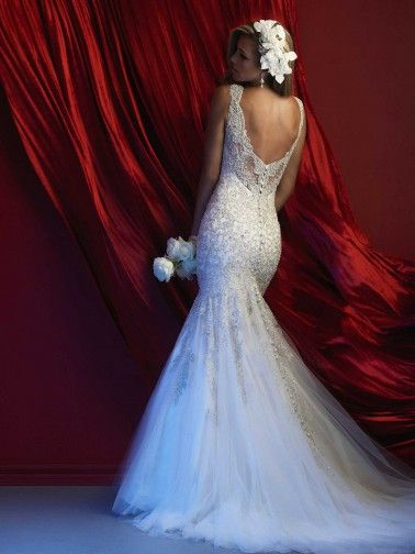 Allure Couture Wedding Dresses - Style C369 [C369] : Wedding Dresses, Bridesmaid Dresses, Prom Dresses and Bridal Dresses - Best Bridal Prices