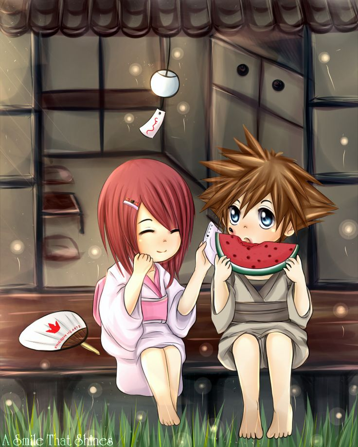 Delivery Moogle Birthday Card Final Fantasy Themed: 145 Best Images About Sora X Kairi KH On Pinterest