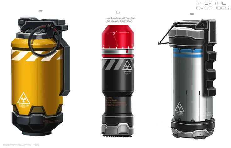 grenades concept from elysium movie