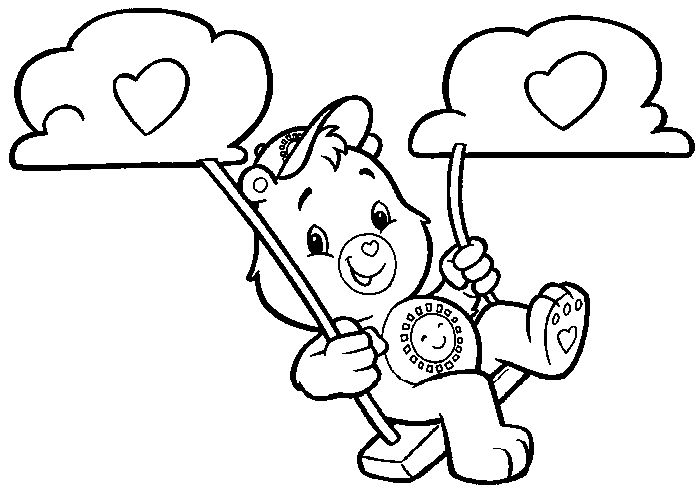 care bear baby coloring pages - photo#31