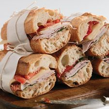 The Almost-No-Knead Baguette – crusty/chewy, perfect for sandwiches, and SO easy!