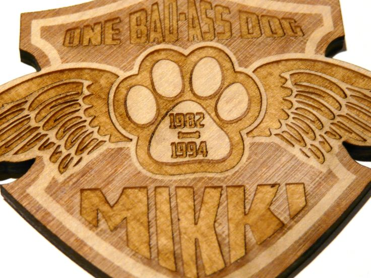 """You wouldn't think that 3/16"""" plywood would be a very good material for making medallions, but by setting the laser to engrave through different layers of wood, Lazerworx achieves beautiful, multilayered designs with a rich assortment of colors. The process works well for designs, but photos do not turn out well."""