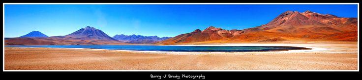 Altiplano,high altitude lakes in the Atacama Desert, Chile