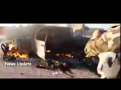 Isis Cruelty : Video Peshmerge Troops Who are Victims Bomb Isis | RAW VIDEO