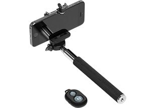 SELFIE STICK WITH BLUETOOTH DEVICE