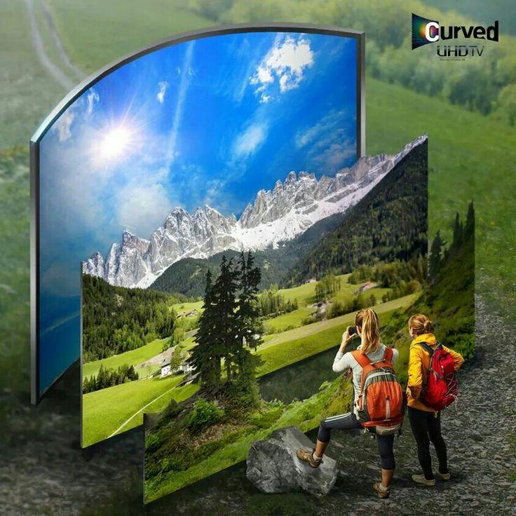 Samsung UHD Curved Smart TV