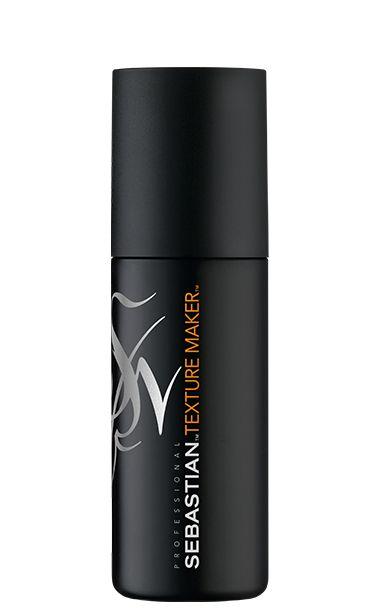 TEXTURE MAKER: Lichtgewicht, veelzijdige textuurspray. Mineralenspray met zeezoutkristallen – voor een matte finish en medium hold.