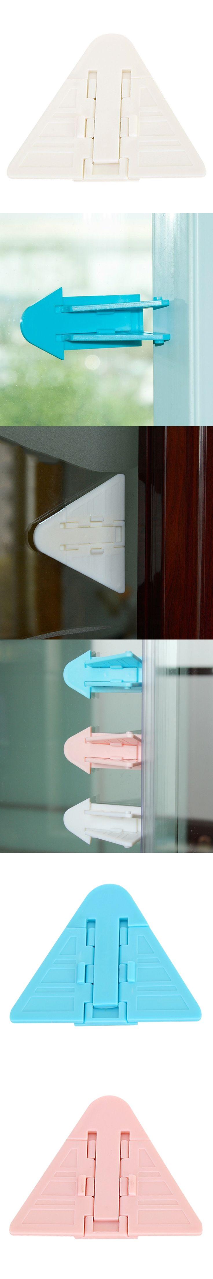 Locks for Child Safety Window Restrictor Sliding Door Security Sash Lock Kids Lock Refrigerator Lock Baby Safety Products
