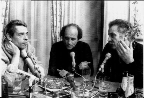 Jacques Brel, Léo Ferré et Georges Brassens trois grands poêtes