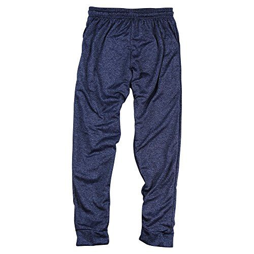http://picxania.com/wp-content/uploads/2017/09/mens-active-jogger-sweat-pants-heather-navy-small.jpg - http://picxania.com/mens-active-jogger-sweat-pants-heather-navy-small/ - Men's Active Jogger Sweat Pants (Heather Navy, Small) -   Price:    Break a sweat in these Broadway Bounce performance 100% polyester performance jogger sweat pants. These pants are great for working out, being active, or even just lounging around.100% PolyesterFast drying moisture wicking technologyEla
