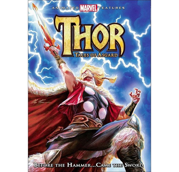 Thor Tales of Asgard Marvel animation, Watch thor