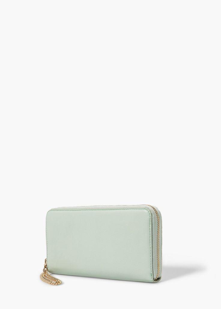Brieftasche mit Kette