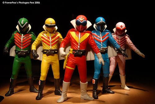 """Star Rangers  """"I used to be Star 5 (Green One) whenever we played ranger role-playing."""" Fun times."""