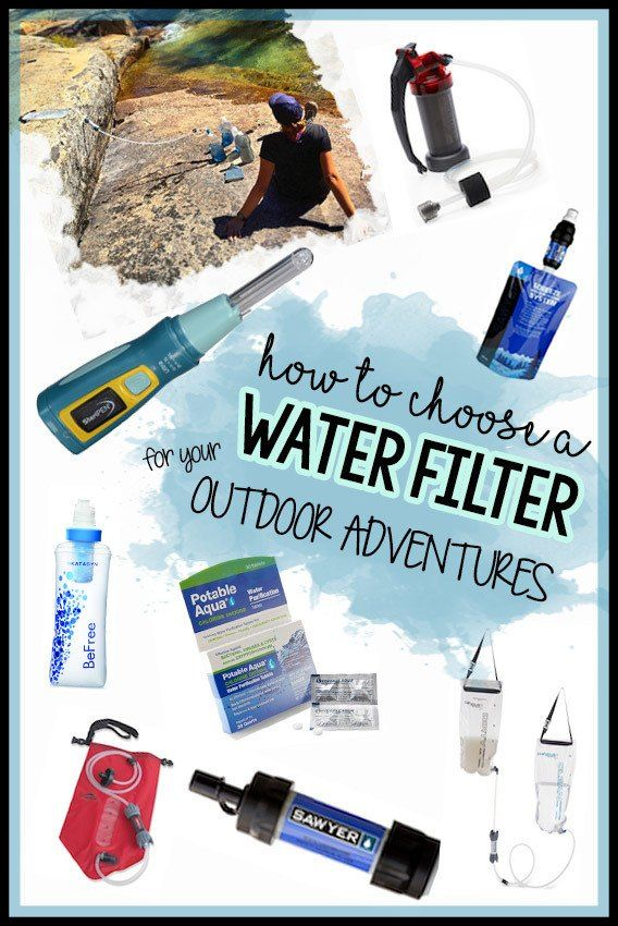 Learn how to choose the best backpacking water filter for your next adventure & get lightweight water filter recommendations from a seasoned thru-hiker.