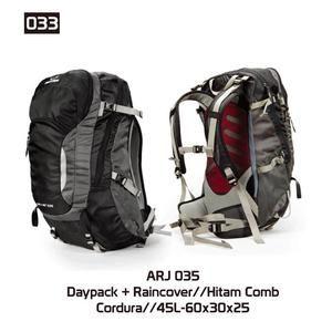 Tas Gunung Hiking Carrier Pria [ARJ 035] (Brand Trekking) Original Bandung