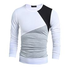 16 styles T Shirt Men Long Sleeve Autumn New Fashion Brand Casual Slim Fit o-neck Mens Clothing Tshirt Homme Tops & Tees #5402(China (Mainland))