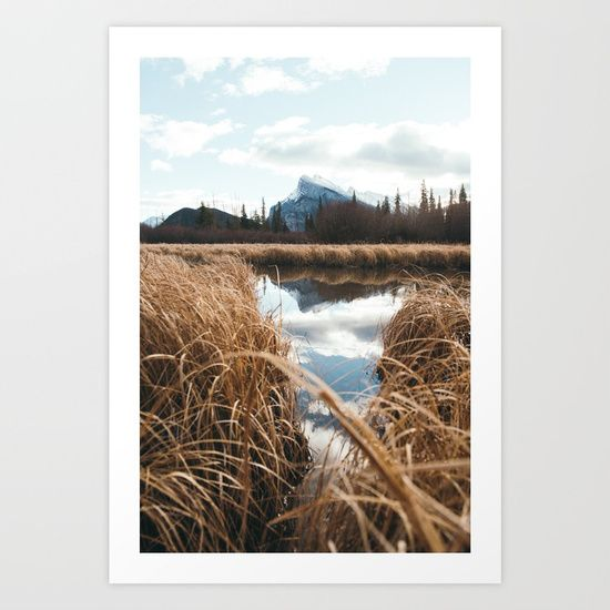 Banff National Park Art Print by Tasha Marie. Worldwide shipping available at Society6.com. Just one of millions of high quality products available.