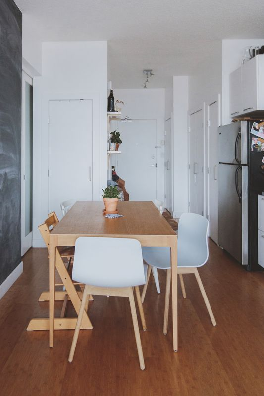 Minimal, Small-Space Living for A Growing Family | Design*Sponge