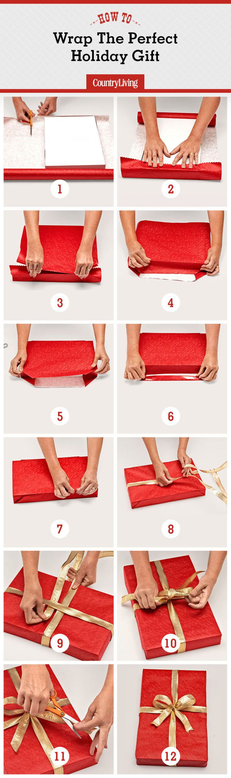 Wondering how to wrap a gift? Macy's gift-wrapping expert demonstrates the perfect way to wrap a present.