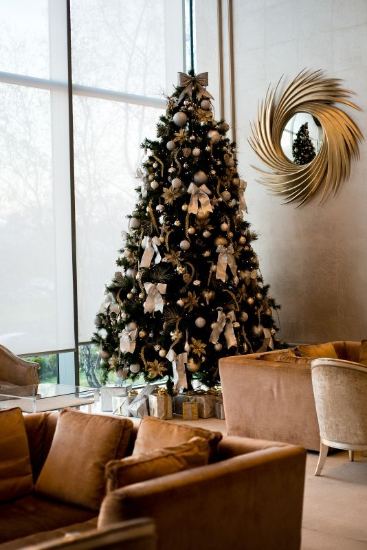One of 7 Christmas Trees at the g Hotel & Spa!