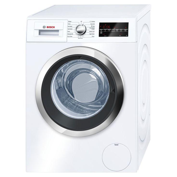Buy Bosch WAT32480GB Freestanding Washing Machine, 9kg Load, A+++ Energy Rating…