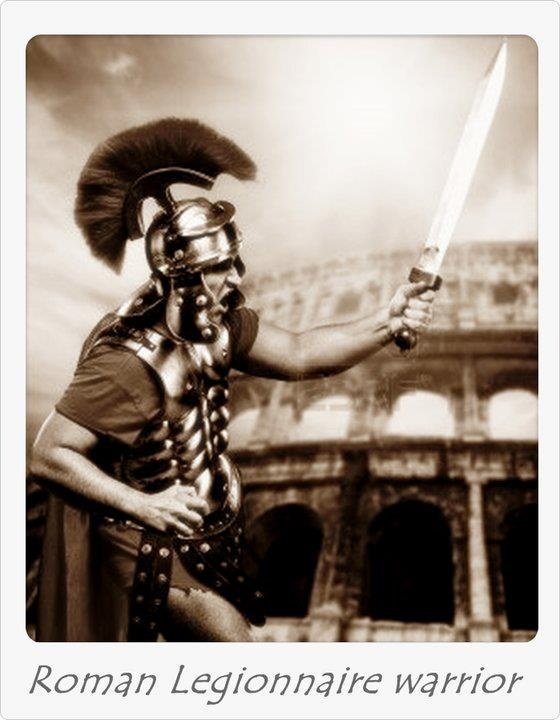 The Roman legionary was a professional soldier of the Roman army after the Marian reforms of 107 BC. Legionaries had to be Roman citizens under the age of 45. They enlisted in a legion for twenty-five years of service, a change from the early practice of enlisting only for a campaign. The last five years were on veteran lighter duties..