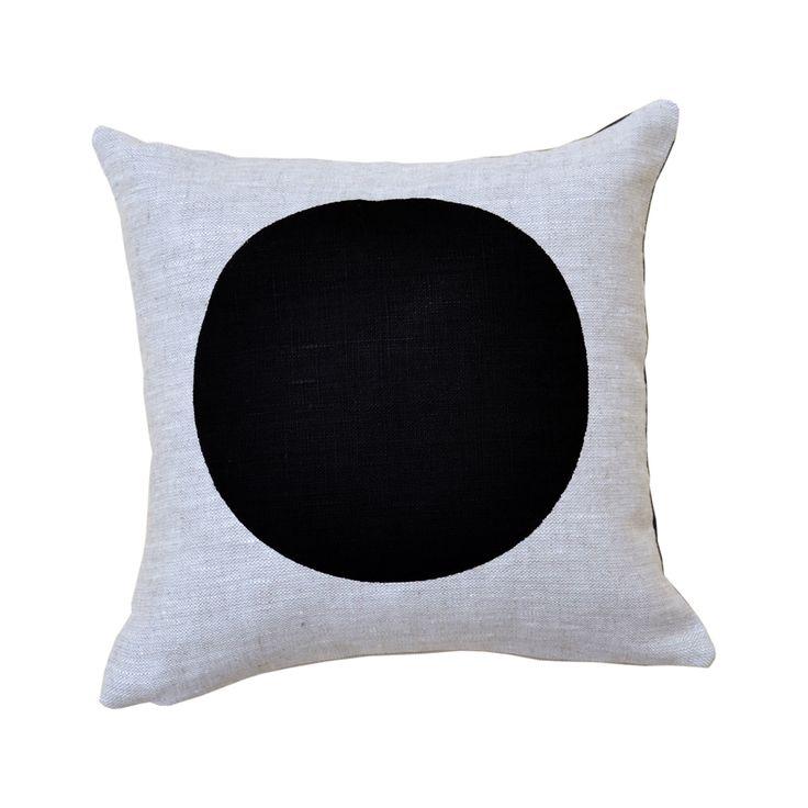 Mini Dot Black/Oatmeal