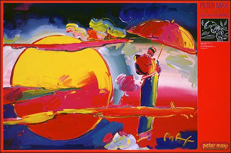 New Moon IIInteresting Art, Posters Shops, Moon Ii, Dedication On, Peter Max, Official Peter, New Moon, Max Site, 36 Inch